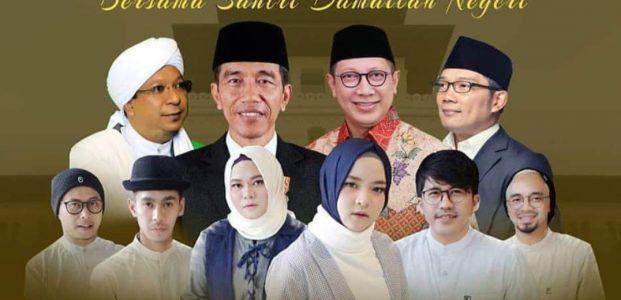 Islam 'Rahmatan Lil 'Aalamiiin' Menggelora di Bandung Lautan Santri