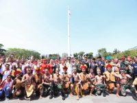 Tarian Papua Pada Acara Upacara 17 Agustus Di Jawa Barat