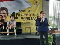Sosialisasi 4 Pilar Kebangsaan Bersama Nurul Arifin