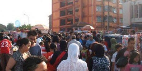 Pasar Kaget Rusunawa Pharmindo Cimahi