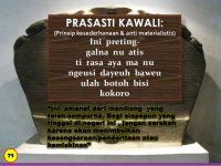 Tafsir 'Prasasti KAWALI' Munuju Jawa Barat Emas 2045 !