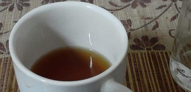 Ada yang asing dengan teh manis ?