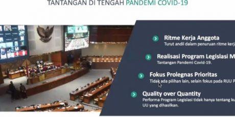 Satu Tahun Pelaksanaan Fungsi Legislasi DPR RI (part 1)
