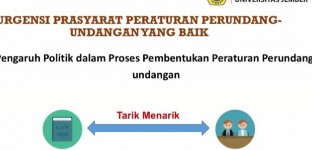 Satu Tahun Pelaksanaan Fungsi Legislasi DPR RI (part 2)