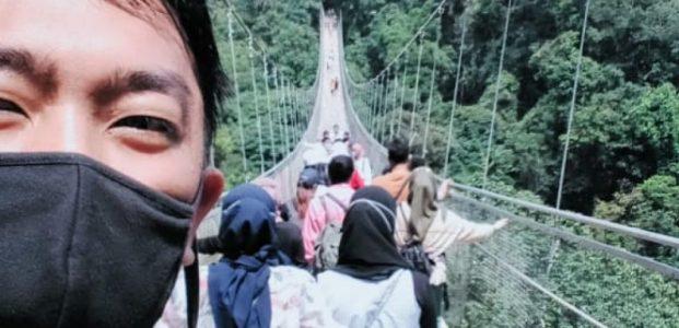 Mengenal Jembatan Gantung Terpanjang di Asia Tenggara