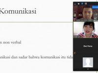 Dedikasi Tina Cai : Kelas Komunikasi via Zoom