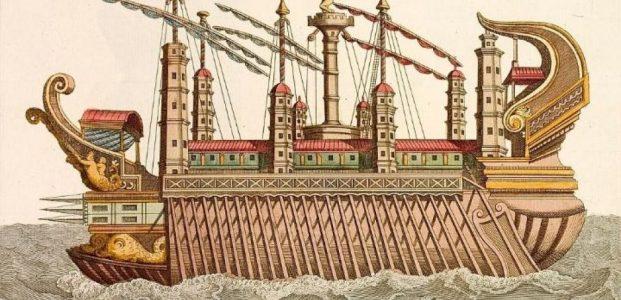 Kapal Perang Super Besar Syracusia : Made In Archimedes !