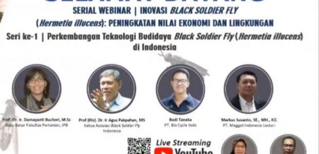 """Maghoot : """" Inovasi Black Soldier Fly: Peningkatan Nilai Ekonomi dan Lingkungan """""""