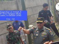 PT Pangjaya Resmi Dibuka Cor Penutup Pembuangan Limbahnya