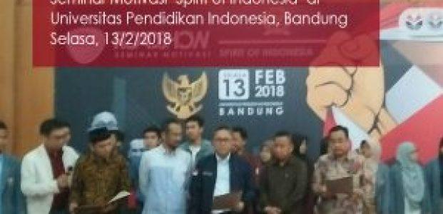 Zulkifli Hasan Membacakan Ikrar Kami Indonesia