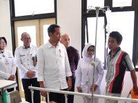 Presiden Tinjau Pelayanan Rumah Sakit di Bandung