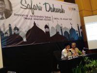 Safary Dakwah Deputy Minister of Energy and Mining, Archandra Tahar
