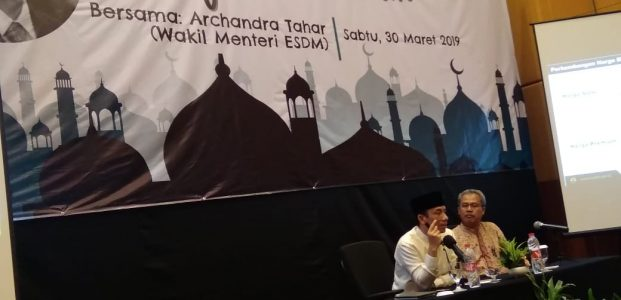 Safary Dakwah Deputy Minister of Energy and Mining, Archandra Tahar