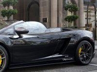 Supercar Black Lamborghini Gallardo