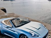 Baby Blue Ferrari California
